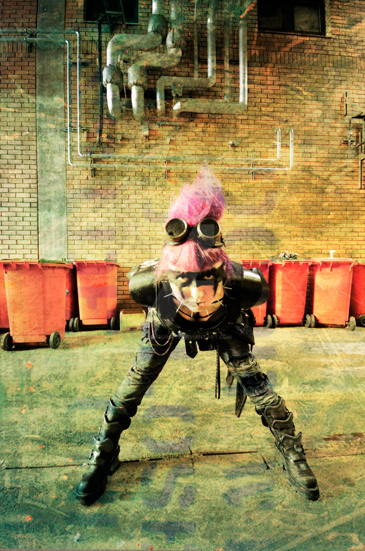 Another Scummy Cyberpunk Future - 2 by QueenCordite