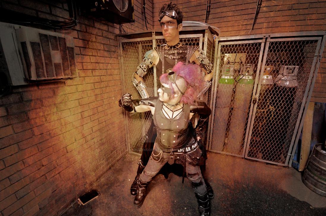 Another Scummy Cyberpunk Future - 5 by QueenCordite