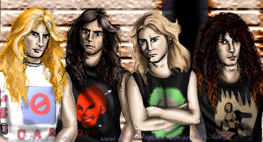 Megadeth. by DrowElfRocker