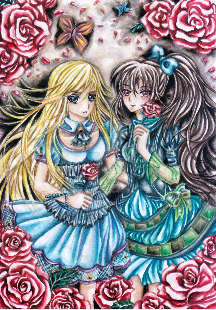 Image Result For Two Roses Coloring