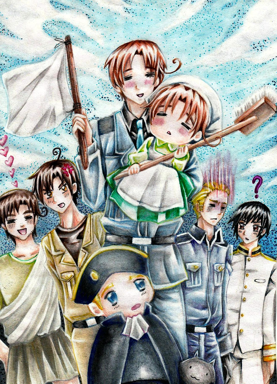 Hetalia: Happy Italy by chicharrria