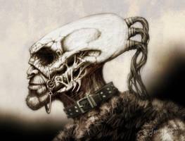 Skull Top by GrungeTV