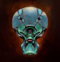 Alien head 05