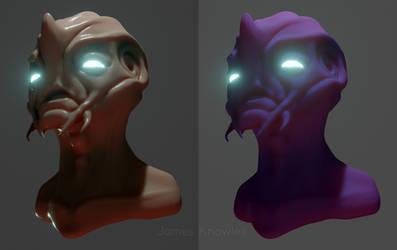 Alien Head tests
