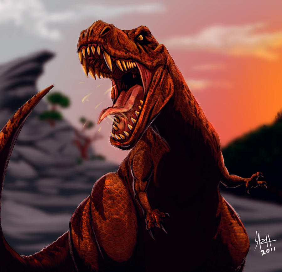 RAWR T REX By LaRhsReBirTh On DeviantArt