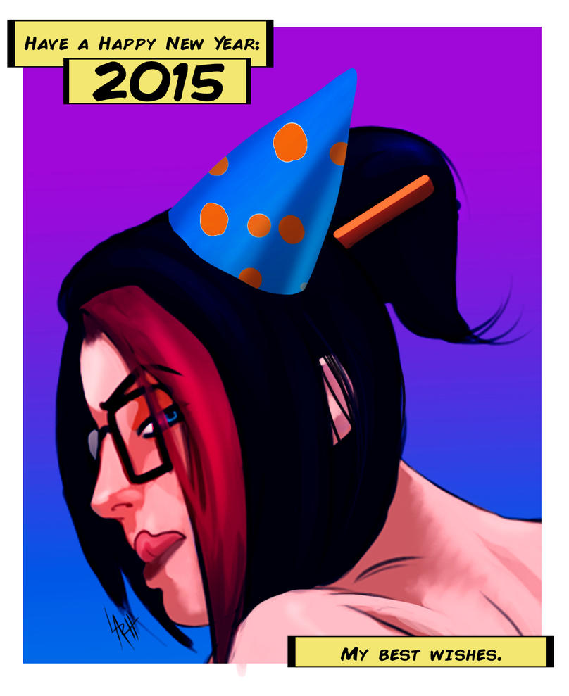 FIora happy New Year 2015 by LaRhsReBirTh