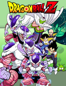 Dragon Ball Z Friezer vs Z Warriors