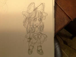 Reimu sketch