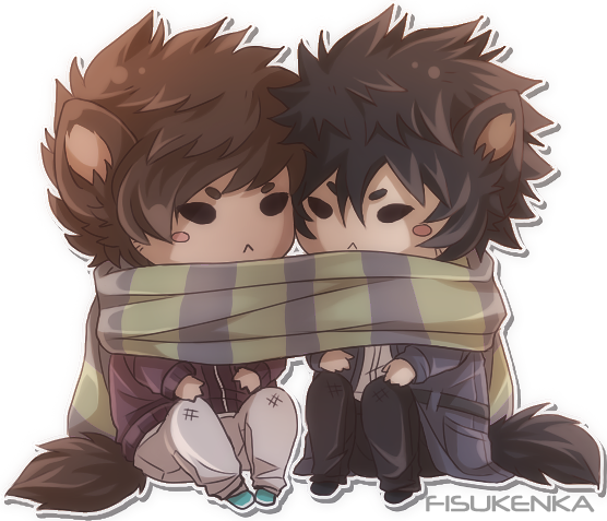 scarf by Fisukenka