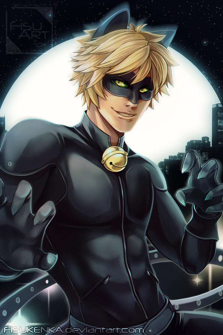 Chat Noir By Fisukenka ...