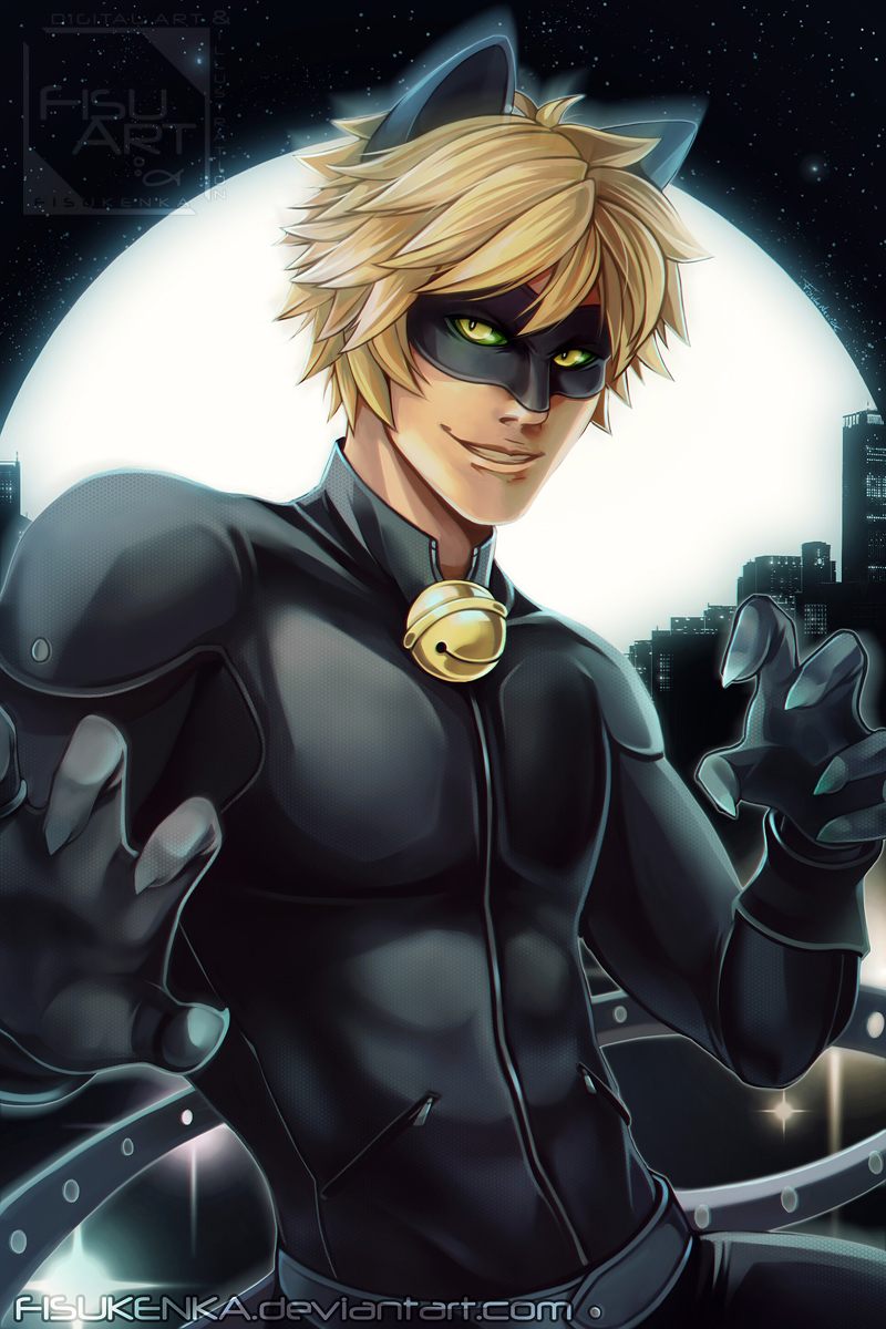 Chat Noir By Fisukenka On Deviantart