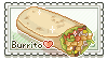 Burrito stamp by Fisukenka