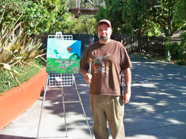 Gilroy Gardens live paint by Anthony-aggro
