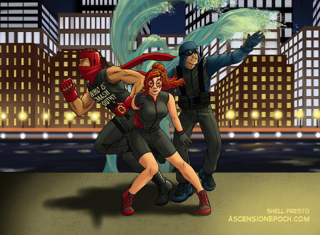 Best Superhero Team in the 'Burgh by shellpresto