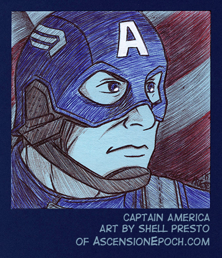 Cap on a Post-It by shellpresto