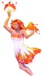 [+Video] Firebrat Fairy Concept Art by shellpresto