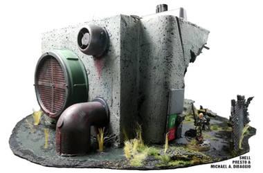 [+Video] Pumping Station Warhammer 40K Terrain