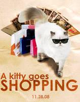 A Kitten Goes Shopping by k3ltr0n