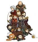 Thorin King Under the Dwarves.