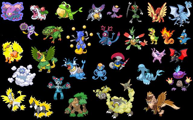 Pokemon Fusion Sprites Generator | Pics | Download |