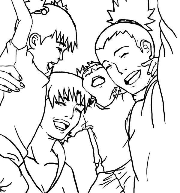 A ShikaTema Family Sketch By Aninhabr On DeviantArt
