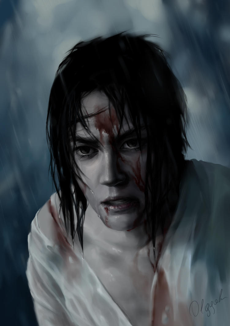 Sasuke by Olggah
