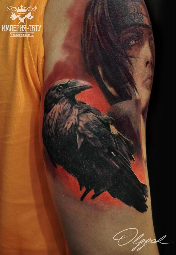 Raven by Olggah