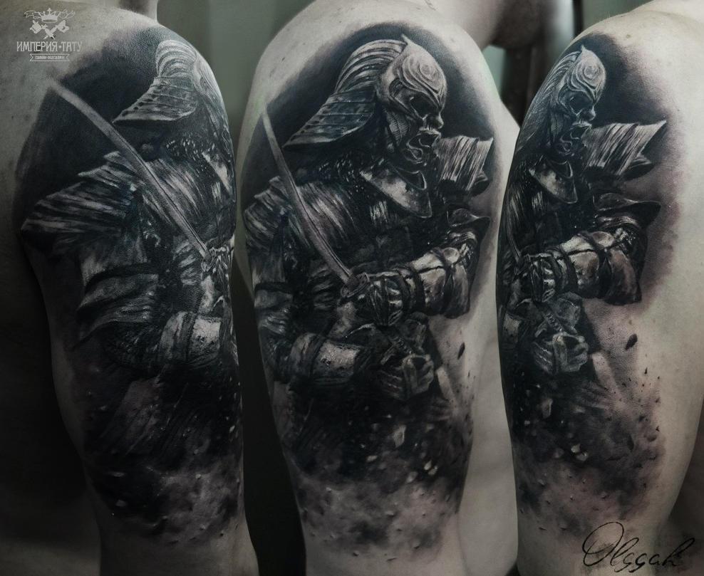 Samurai by Olggah