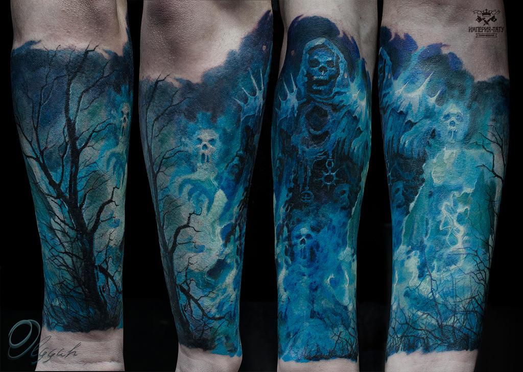 Hades tattoo by Olggah  Hades Tattoos