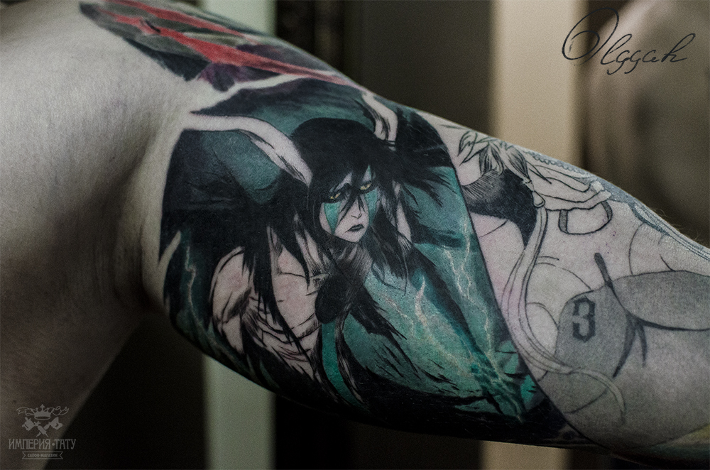 Anime Characters With Tattoos : Ulquiorra by olggah on deviantart