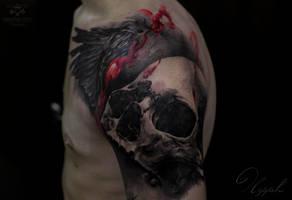 Skull by Olggah