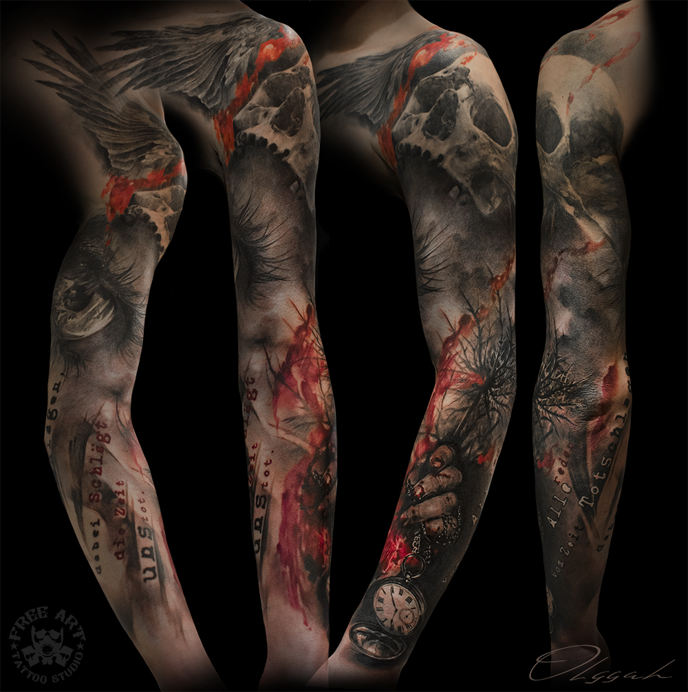 Sleeve by Olggah on DeviantArt