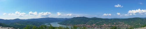 Visegrad Citadel Panorama 2 by GamesHarder