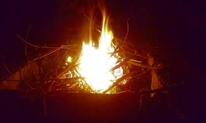 Kismaros School Trip 5 -  Fire