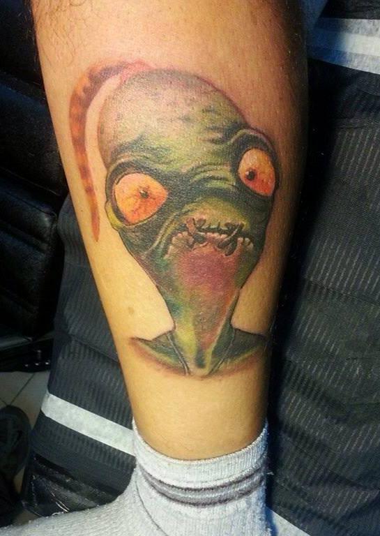 Abe tattoo by inkynebula