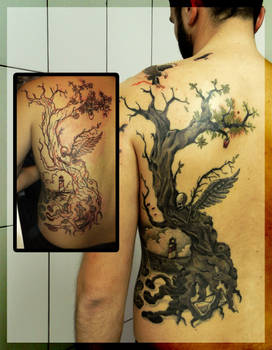 Freehand tree