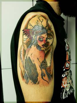 Huldra tattoo