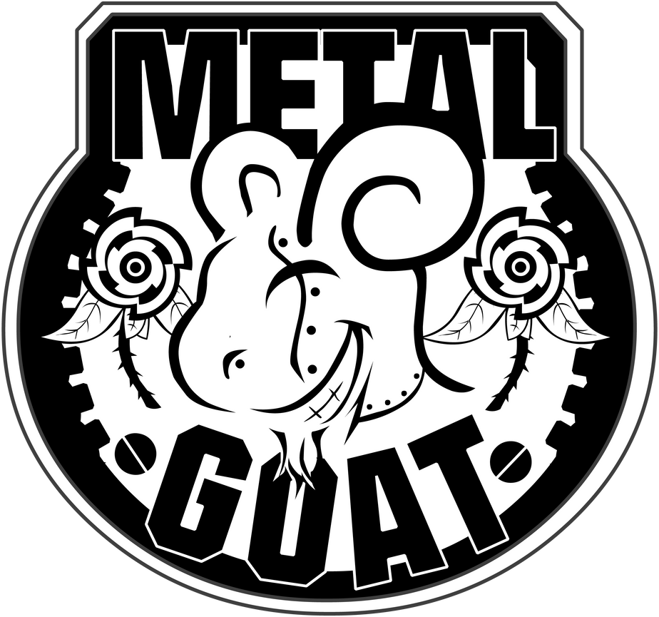 MetalGoat Logo in black by TheMetalGoat