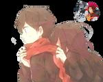 Anime Pareja-Render