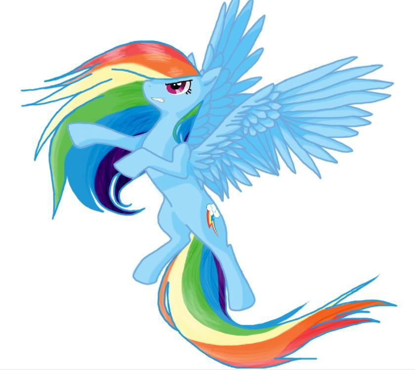 Rainbow Dash by BiscuitMango