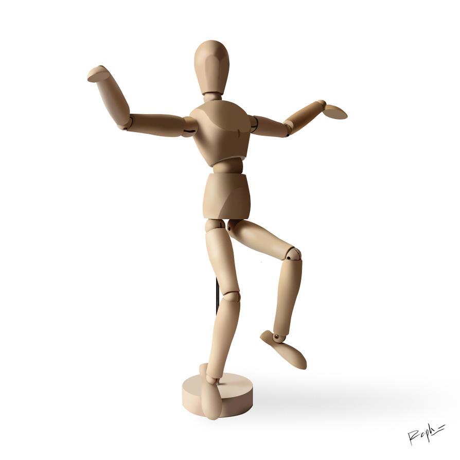 Wood Doll By Unluckyjak On Deviantart