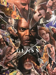 Glass (2019) - Poster of #SDCC by williansantos26