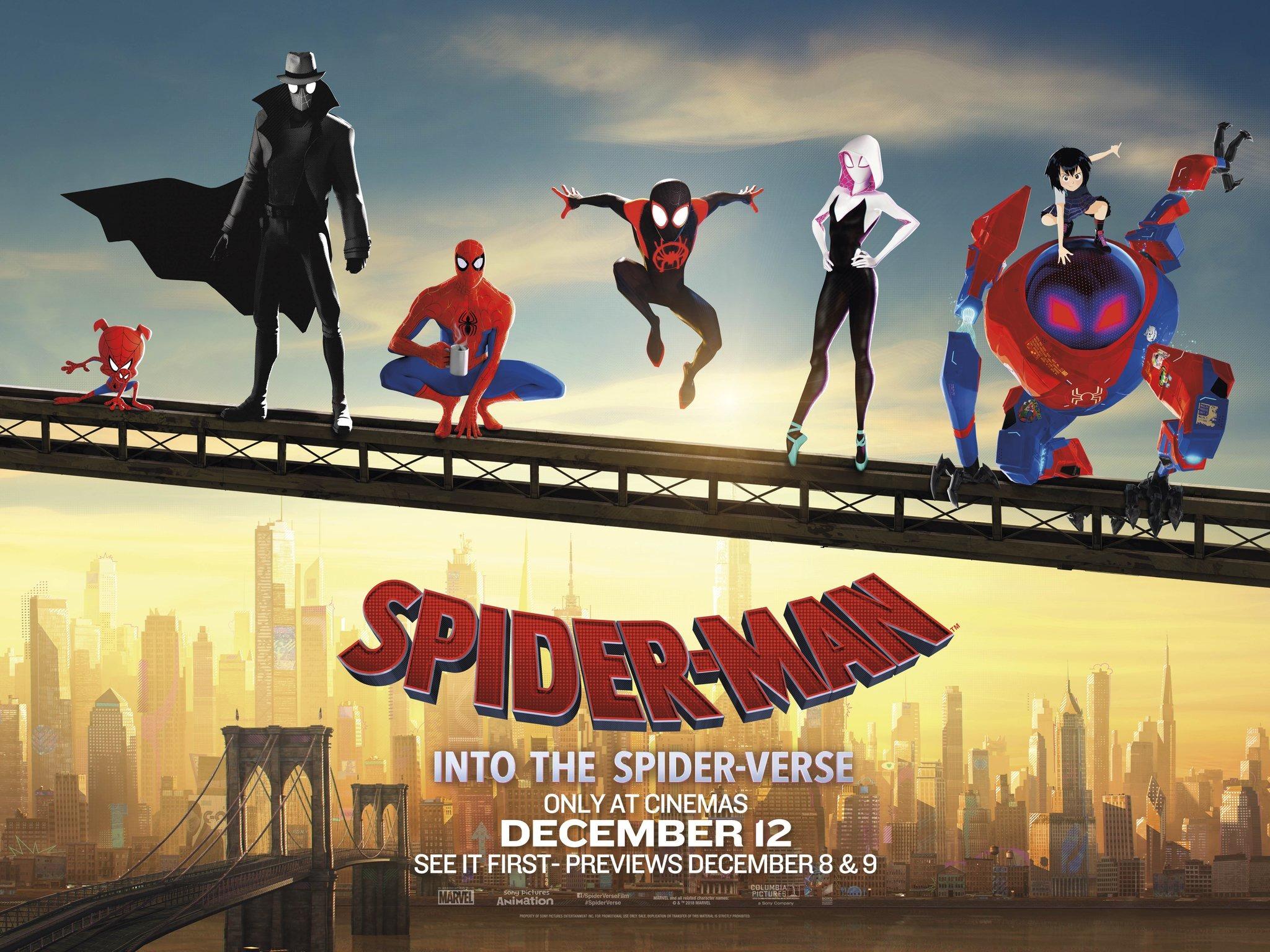 Spider Man Into The Spider Verse 2018 Poster 2 By Williansantos26 On Deviantart