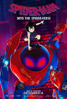 Peni Parker Poster - Spider Man Into The Spider Ve by williansantos26