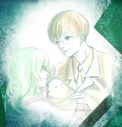 EtoKen Family by kuroikazuto