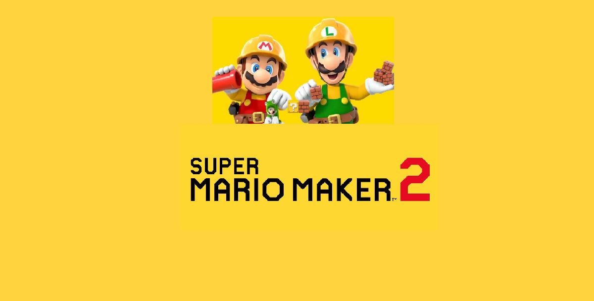 Super Mario Maker 2 Logo Png