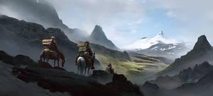 Road to Snaefellsjokull