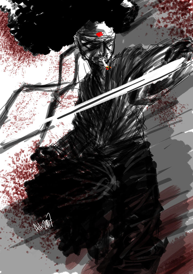Afro Samurai by artlambi