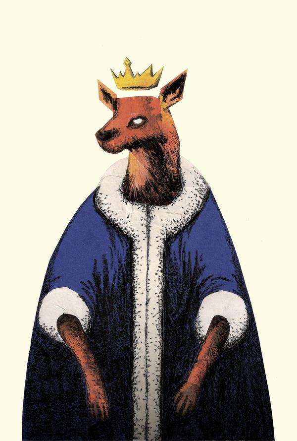 Deer King by artlambi