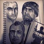 Modern Warfare 3 Sketches
